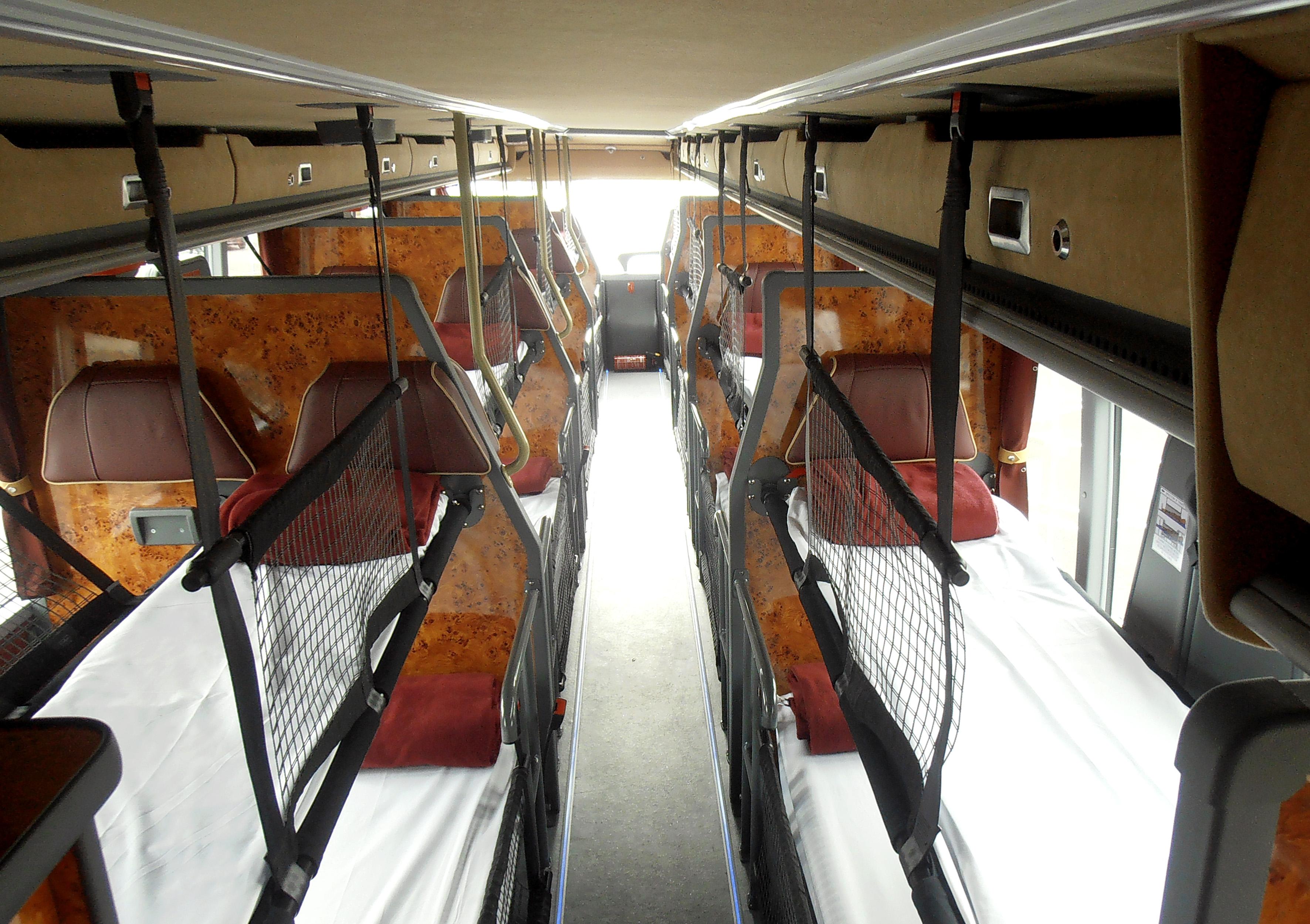 Megabus Sleeper | Swolekreatine.com