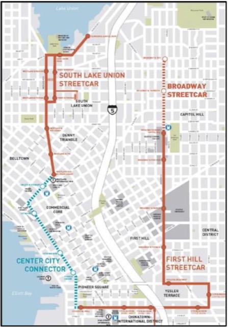 south lake union trolley map Seattle Fails The Streetcar Intelligence Test The Antiplanner south lake union trolley map